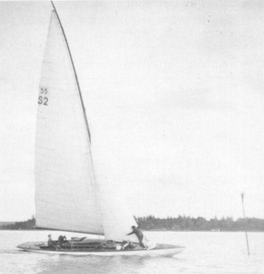 Bröderna Lundius skärgårdskryssare Mayflower IV år 1929