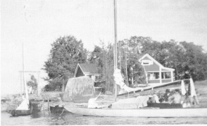 WSS klubbhus på Rybergs holme