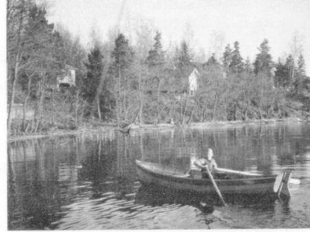 Kedjeön en vårdag 1939