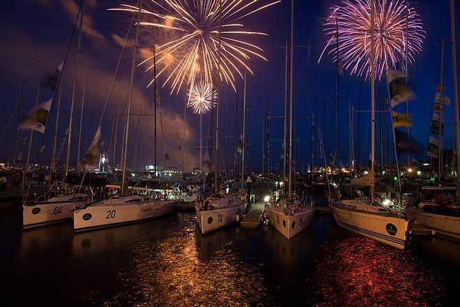 Nyår med båt